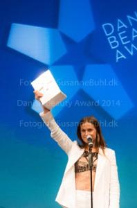 Danish Beauty Award Andrea Elisabeth Rudolph